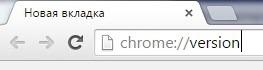 chromeversion