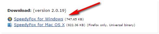 Бесплатная утилита для ускорения Google Сhrome и Firefox - SpeedyFox