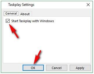 Как установить кнопки воспроизведения музыки и видео в панели задач [Taskplay]