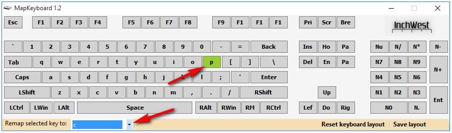 Как на клавиатуре переназначить клавиши