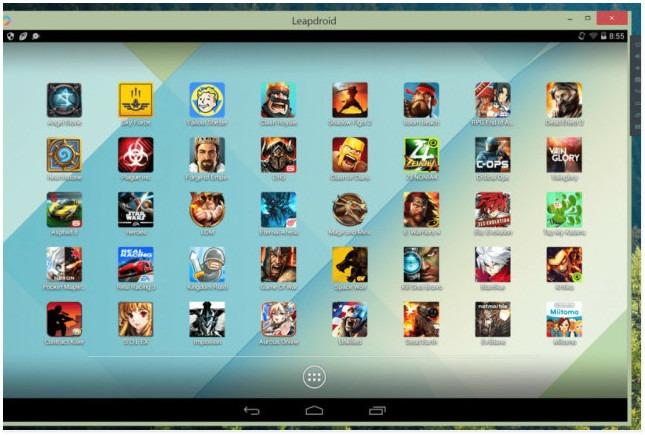 Эмуляторы Android для ПК