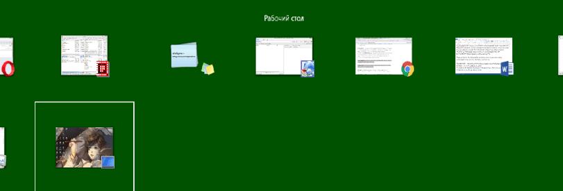 Скрытые настройки панели Alt + Tab в Windows 8 и 8.1