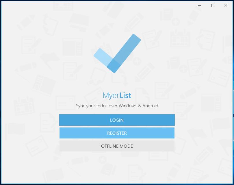 MyerList - симпатичное приложение для ведения списков дел
