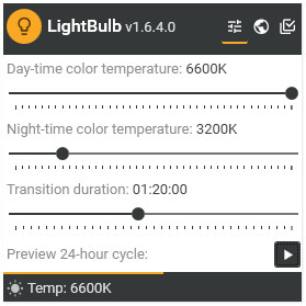 Как настроить цветовую температуру экрана [LightBulb]